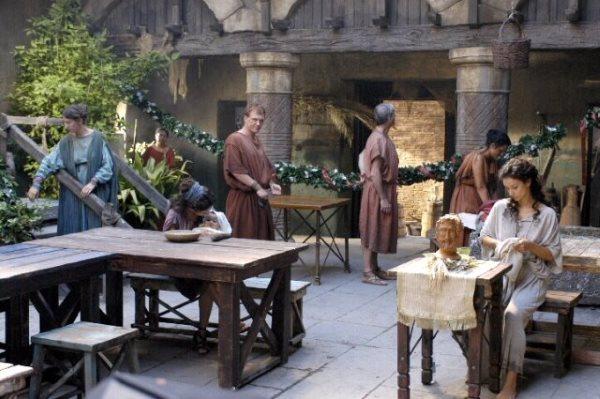 Свадебный обряд первой брачной ночи в Древнем Риме