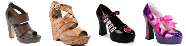 Правильно подобранная обувь для полных дам - залог успеха.