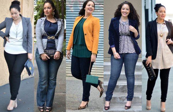 Для полных девушек, правильно подобрать гардероб.