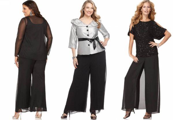 Модная одежда больших размеров.
