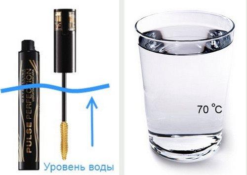 Использование горячей воды для реанимации туши