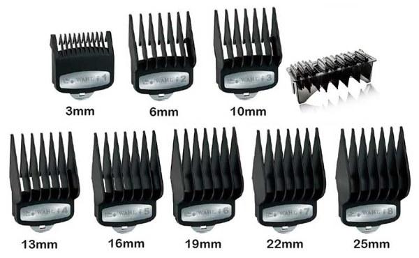 Купить насадки для машинки для стрижки волос babyliss for men