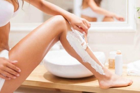 Комфортное бритье ног