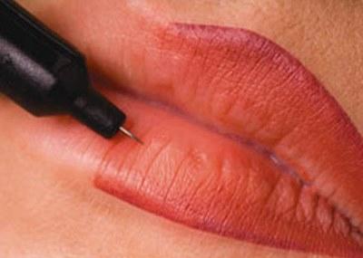 Как выбрать и использовать карандаш для контура перманентного макияжа