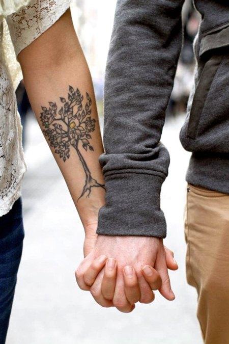 Тату на руке для девушек. Популярные рисунки тату на руках