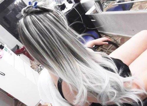 Пепельный балаяж на темные волосы. Техника и модные варианты окрашивания