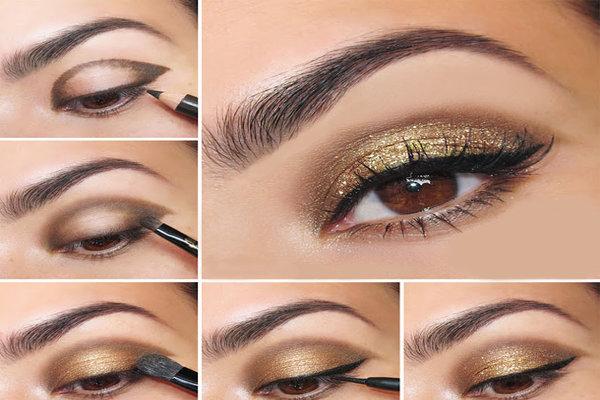 Макияж глаз. Пошаговая инструкция с фото для начинающих. Дневной, вечерний, под цвет волос