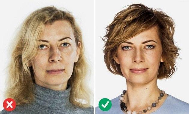 Стрижка для овального лица и тонких волос средней длины, длинных, коротких, с челкой и без. Фото