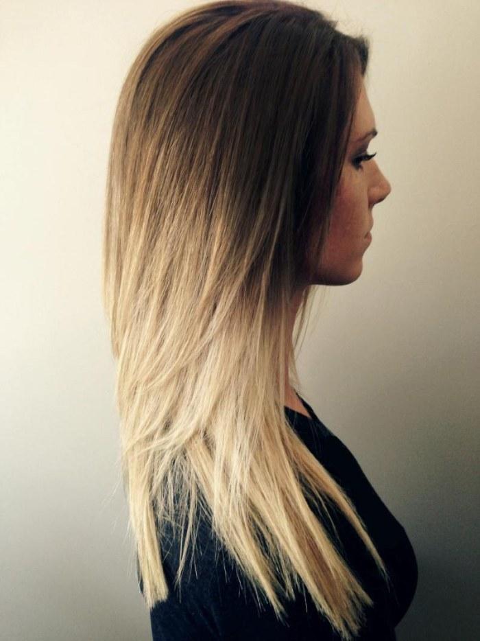Балаяж - техника окрашивания волос. Фото на темные, русые, короткие, длинные, средние локоны