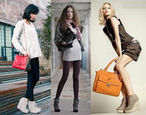 Женские ботильоны - с чем носить, модные модели, фото