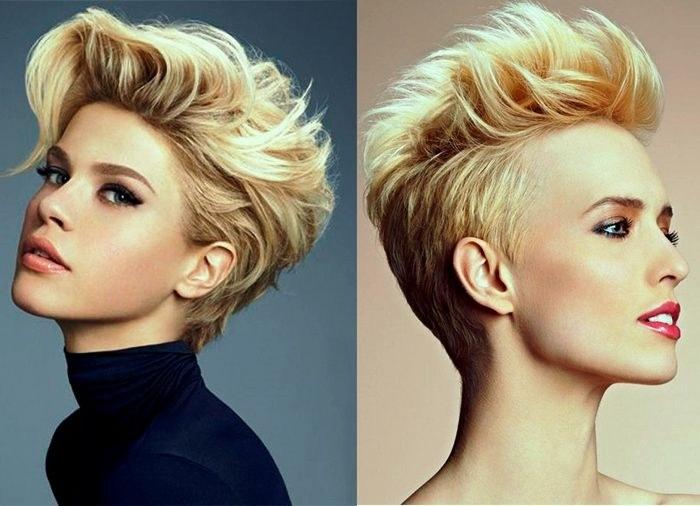 Тонкие волосы стрижки до и после