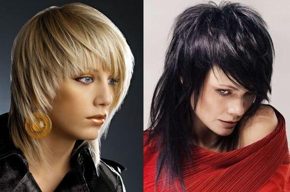 Прически на средние волосы, фото. Красивые повседневные, вечерние, простые стрижки