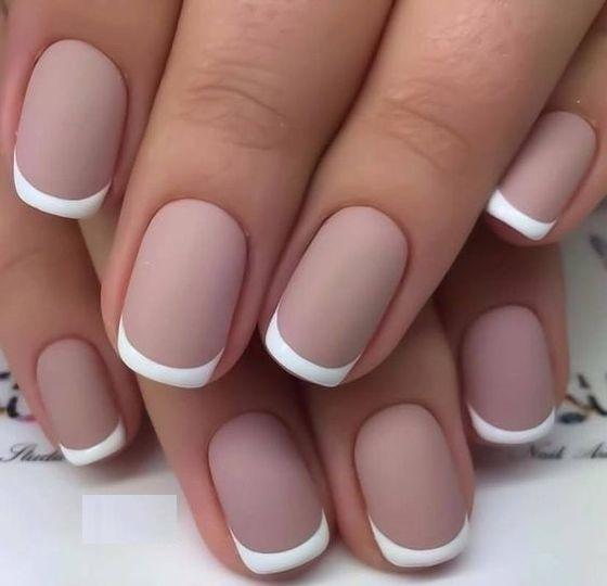 Белый френч на ногтях. Идеи рисунков, дизайна французского маникюра
