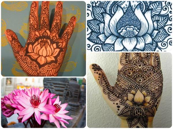 Рисунки хной мехенди для начинающих на руке, ноге, запястье, теле поэтапно. Трафареты, фото