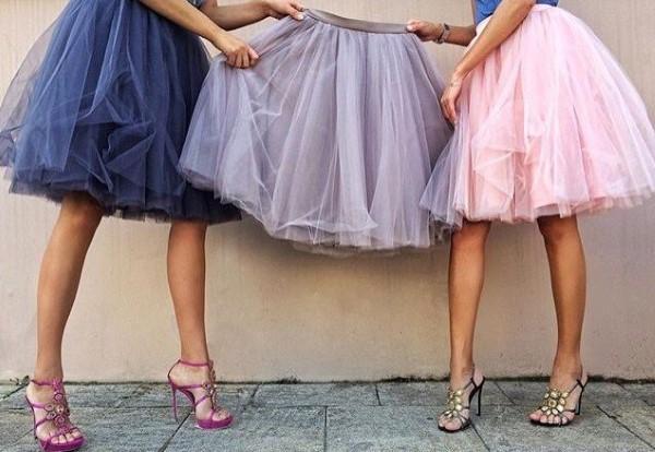 fluffy-skirt Юбка пачка из фатина своими руками для девочки без шитья. Юбка туту своими руками
