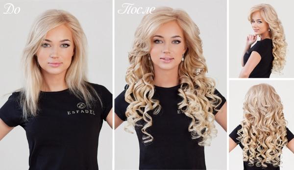 Натуральные волосы на заколках: какие купить, как правильно крепить, прически, фото
