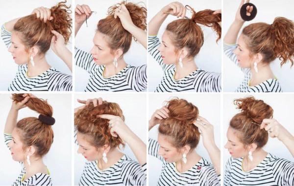 Как сделать прическу самой себе на средние волосы: быстро, красиво, за 5 минут