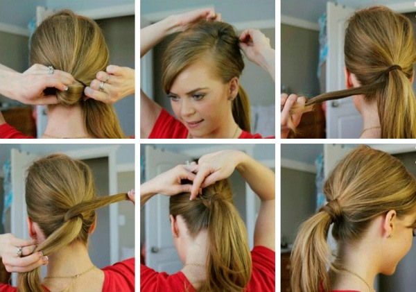 Прически на каждый день на средние волосы. Инструкция, фото. Как быстро и красиво сделать легкие укладки