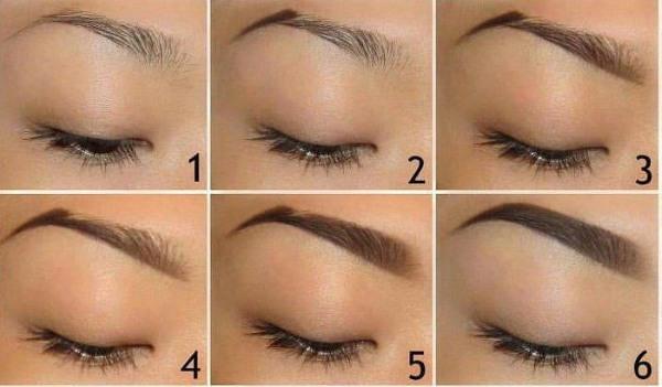 Карандаш для бровей. Какой лучше купить: Brow, Eyebrow, Maybelline, Eva. Правильно красим брови поэтапно, фото