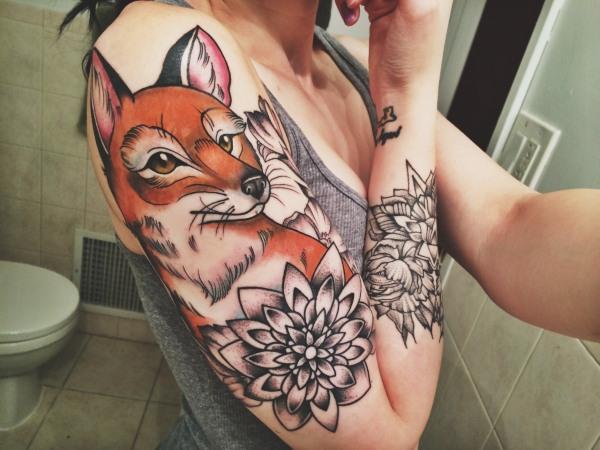 Татуировки для девушек – фото, надписи и их значения на запястье, руке, бедре, ключице, пояснице