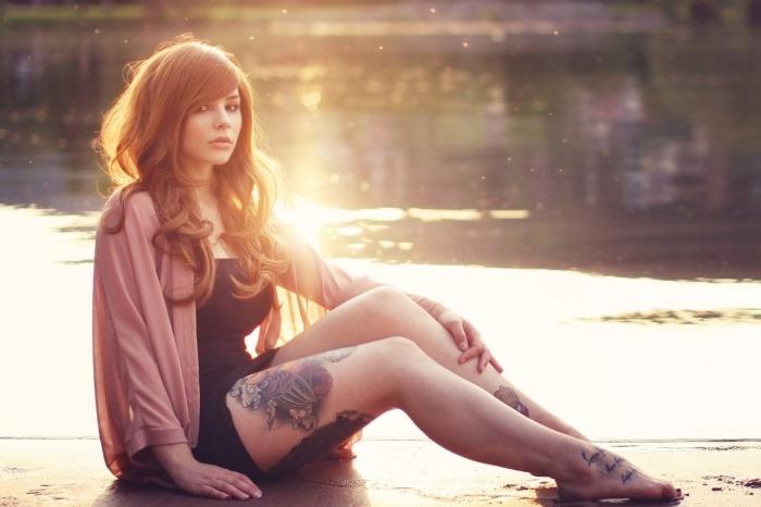 Тату на ноге для девушек. Фото и значение женских татуировок, эскизы, узоры, красивые, маленькие, оригинальные