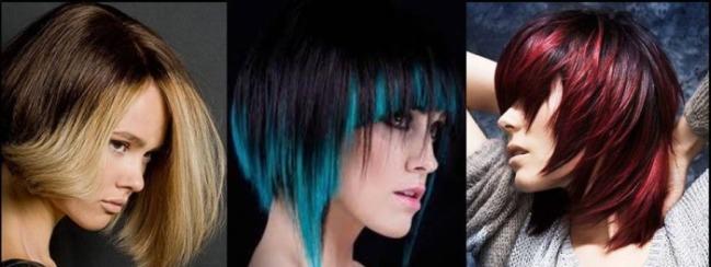 Омбре на темные волосы короткие, средние, длинные. Техника окрашивания дома, фото