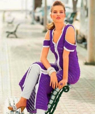 Какой цвет сочетается с фиолетовым в одежде женщины, что означает, с чем носить, кому идут оттенки и тона фиолетового