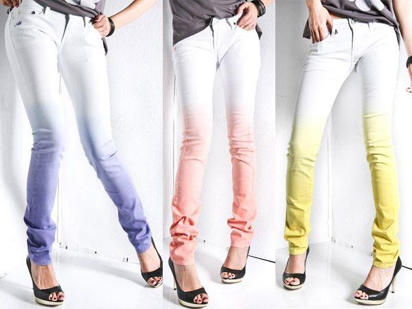 Как покрасить джинсы в синий или черный цвет в домашних условиях. Пошаговая инструкция с фото