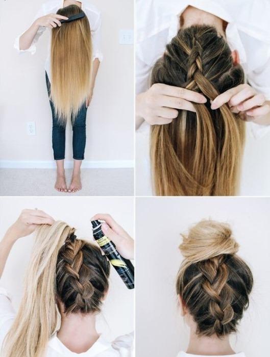 Гулька из волос короткие волосы как сделать