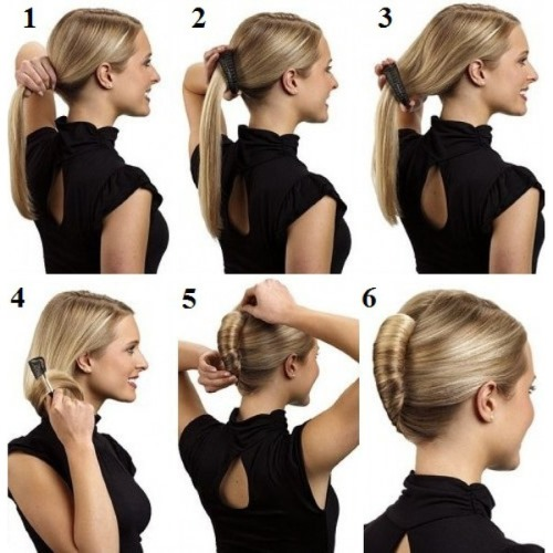 Прическа на средние волосы - быстрые и красивые укладки. Инструкции с фото