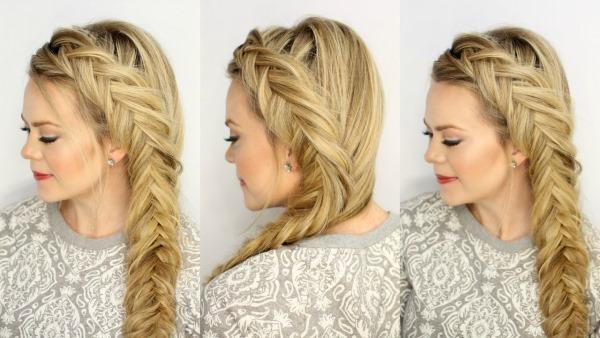 Прически на средние волосы. Модные укладки своими руками – пошаговые инструкции с фото