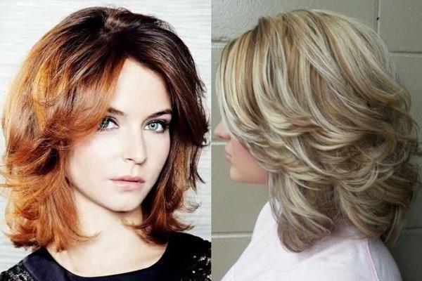 Стрижки для девушек на средние волосы: модные, красивые, с челкой и без. Фото 2020