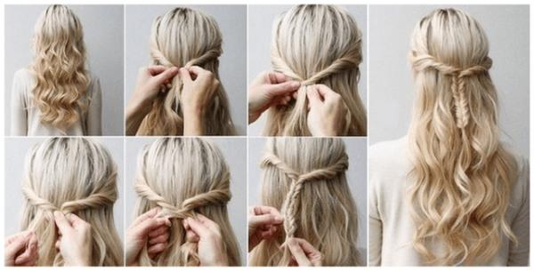 Детские прически на длинные волосы на выпускной девочке. Пошаговые инструкции, как сделать своими руками. Фото