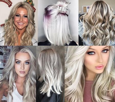 Холодный блонд цвет краска