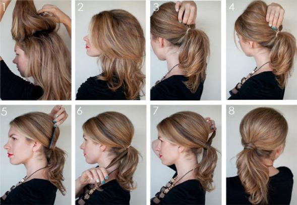Укладка волос своими руками в домашних условиях фото 92