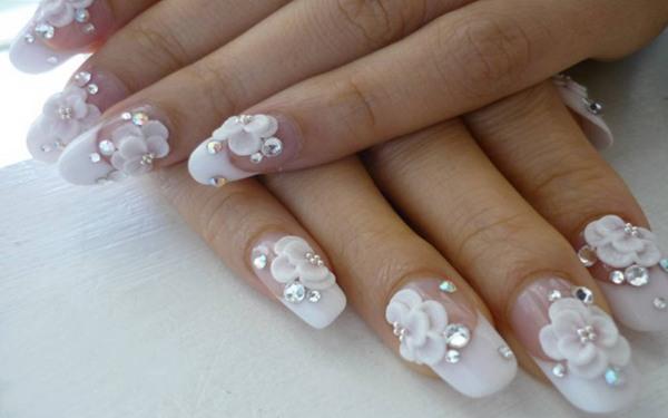 Лучшие идеи свадебного маникюра для невесты. Модные тенденции, дизайн с фото на короткие, длинные, нарощенные, гелевые ногти, френч