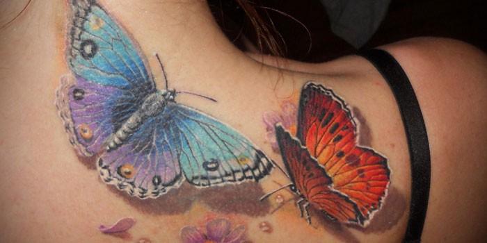 Татуировки на позвоночнике (спине) у девушек: иероглифы, надписи с переводом, цветы, точечные, руны, планеты, линии. Красивые эскизы