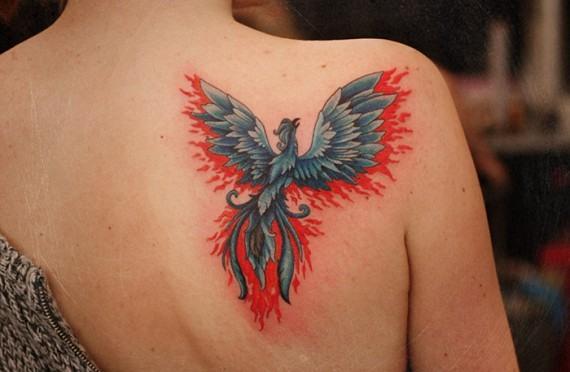 Тату птицы - значение для девушек татуировки орла, сокола, голубя, ласточки, совы, стаи птиц. Фото и эскизы