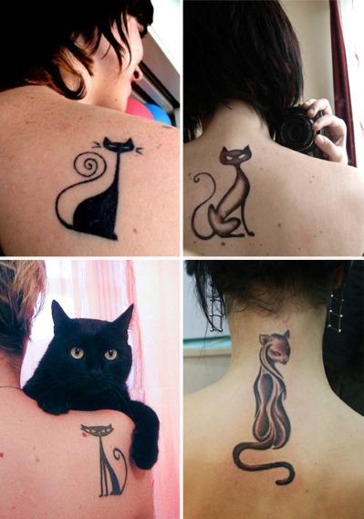 Татуировки для девушек на спине с эскизами и фото: популярные надписи со значениями и переводом, крылья и маленькие рисунки