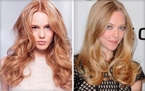 Цвет волос для голубых глаз и светлой кожи: какие в моде в 2021 году, красивые оттенки для женщин после 30, 40, 50 лет, фото