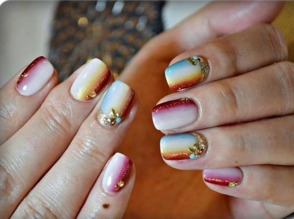 Белое омбре на ногтях. Фото, технология, как наносить пошагово для начинающих. Идеи дизайна, новинки