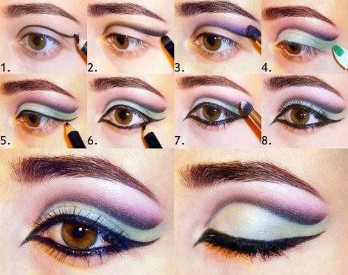 Макияж для брюнеток с карими глазами для светлой, смуглой кожи, для увеличения глаз, на каждый день, фотосессии, Смоки айс, нюд
