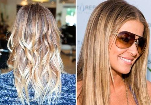Растяжка цвета на коротких волосах: от темного к светлому, русого к блонду, рыжему, карамель. Правила колорирования, как делать пошагово с фото