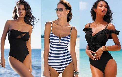 Слитные купальники с утягивающим эффектом: спортивные, корректирующие, для полных, с юбкой, чашками, пушапом, утягивающие модели
