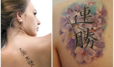 Татуировки надписи с переводом для девушек и мужчин на английском, русском, латыни. Эскизы, фото и значение