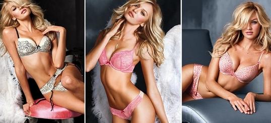 Купальники Виктория Сикрет (Victoria's Secret) 2019. Модные тенденции, фото: слитные, бандо, раздельные, бикини, с шортами, пуш ап