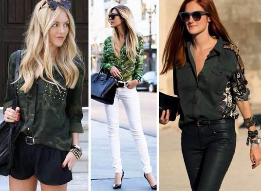 Женские джинсовые рубашки: фасоны, с чем носить. Модные луки 2018, фото и образы