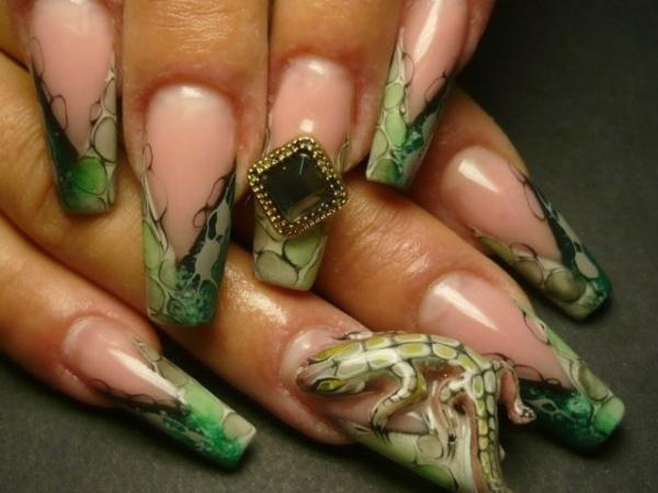 Жидкий камень на ногтях - фото, технология, как наносить пошагово для начинающих. Идеи дизайна, новинки
