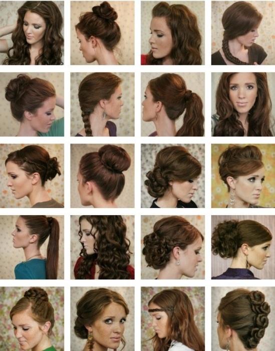 Быстрая прическа на длинные волосы на каждый день, в школу для девочки, на средние и короткие с челкой