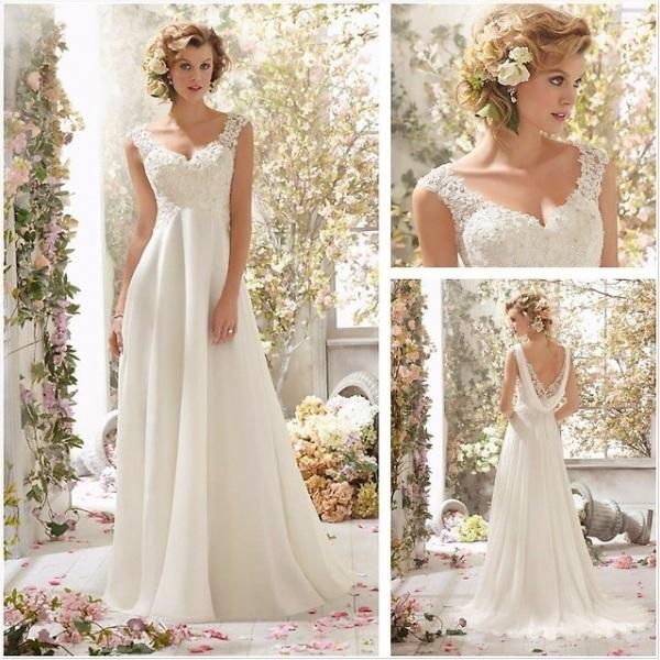 Свадебные платья в греческом стиле для беременных, полных девушек, нежных оттенков, с рукавами. Актуальные фасоны и модели, рекомендации по выбору